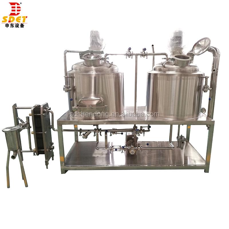 200L craft bier brouwen apparatuur 200l cerveza artesanal apparatuur