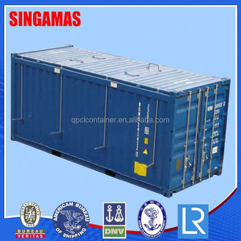 Bon 20ft Open Top Large Metal Storage Containers