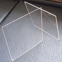 GWX clear 4.5mm strong impact Polycarbonate solid pc sheet