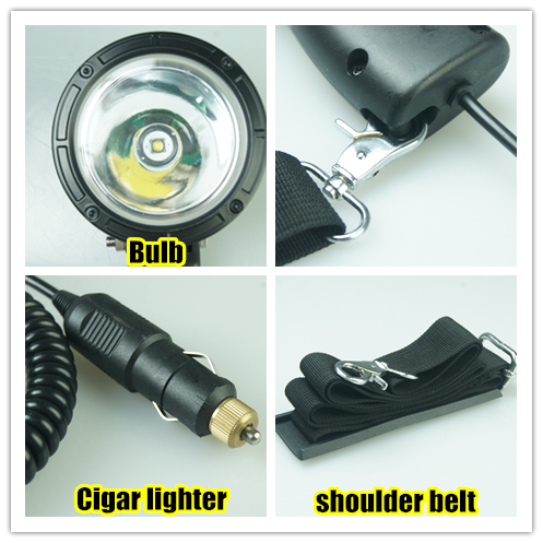 Wholesale Price 1200lm Cree Led Hand Held Spotlights