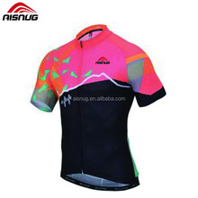 2017 latest printed skoda cycling jersey
