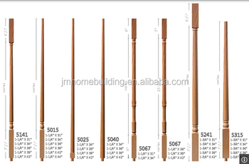 Superbe Wood Stair Balusters/balustrade/spindles/raisers