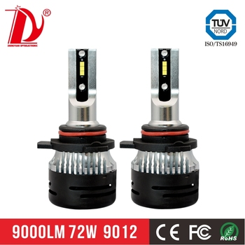 Zhengyuan new products saving anergy bright led 9012 V5 led headlight for cars with good price