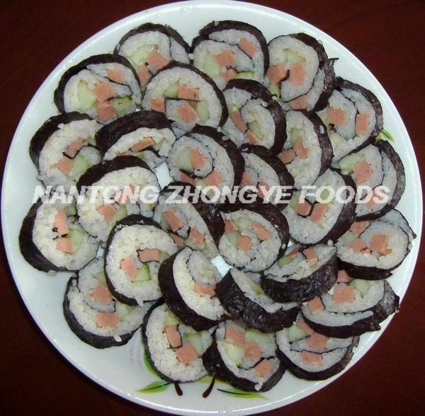 A B C D 10sheets yaki sushi nori roasted seaweed