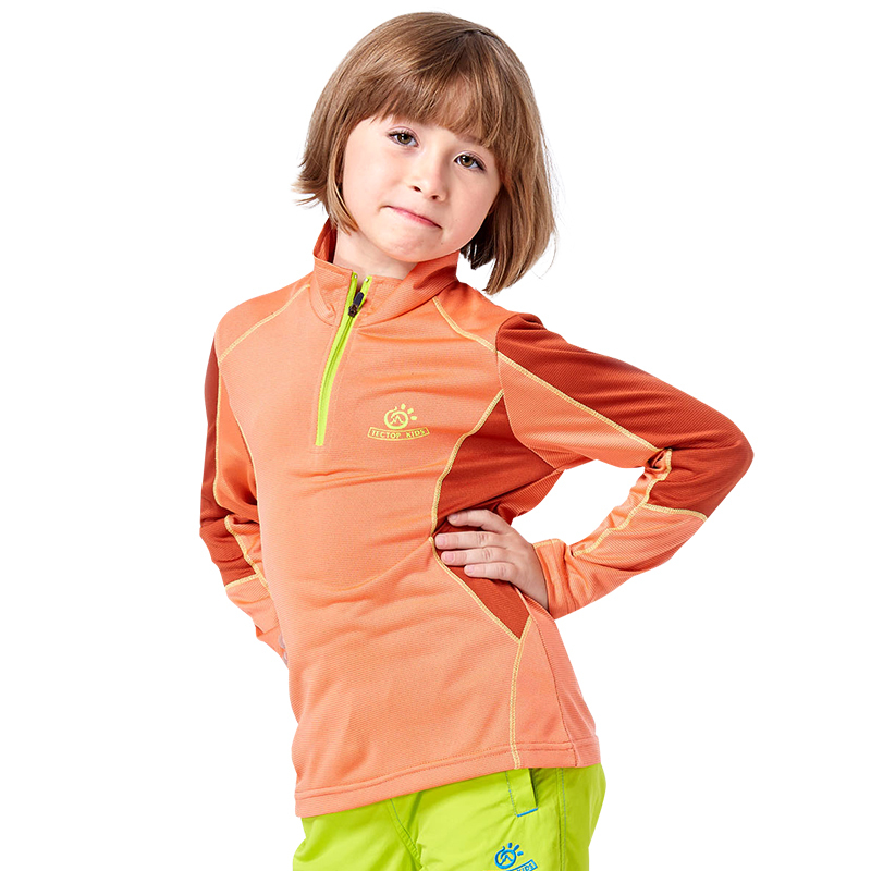 Brand Kids outdoor quick dry t Shirt fashion boys sport shirt girls UV shirts breathable fishing hiking clothing for children