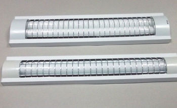 T8 Fluorescent Double Tube Fluorescent Lighting Fixture Luminaire ...