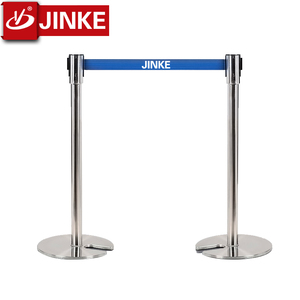 Stainless Steel Queue Rope Barrier Stand/Car Park Barriers