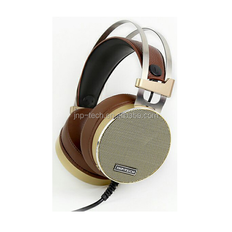 Professional DJ Headphone with Metal Headband Gaming Headset