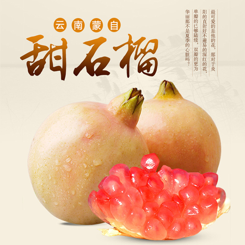 China cheap indian fresh pomegranate with CE&ISO