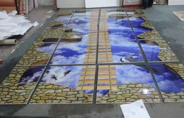 Holz dekorative fliesen wand textur 3d panels wasserdichte for Epoxy boden 3d