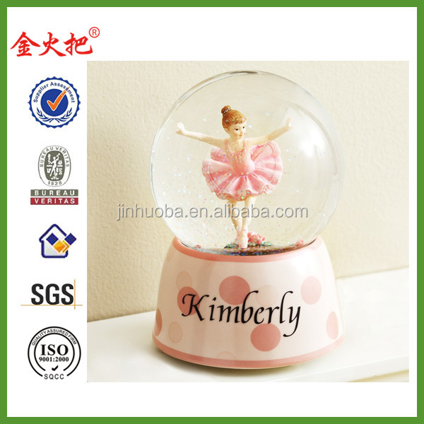 Cheap High quality dance snow globe