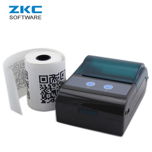 ZKC 5805 Portable Handheld Bluetooth RS232 Mini USB Thermal Barcode Label Sticker Receipt Printer