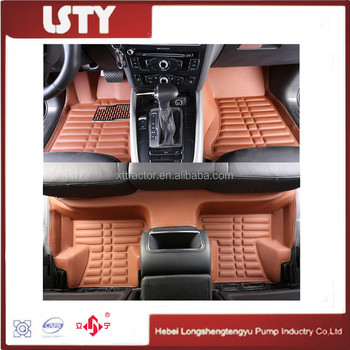 Custom Car Interior Decoration Trim Floor Mats Xpe Material Mats