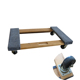 Wood material cargo moving heavy duty dolly trolley