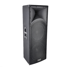 Plywood Cabinet 500W 2x15 Inch High Power Speaker Box CQ215