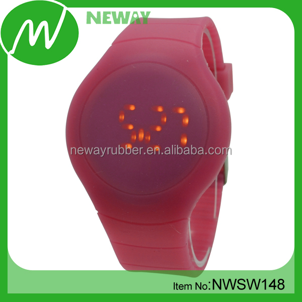Jelly Sport Lightful Soft Silicone LED Watches