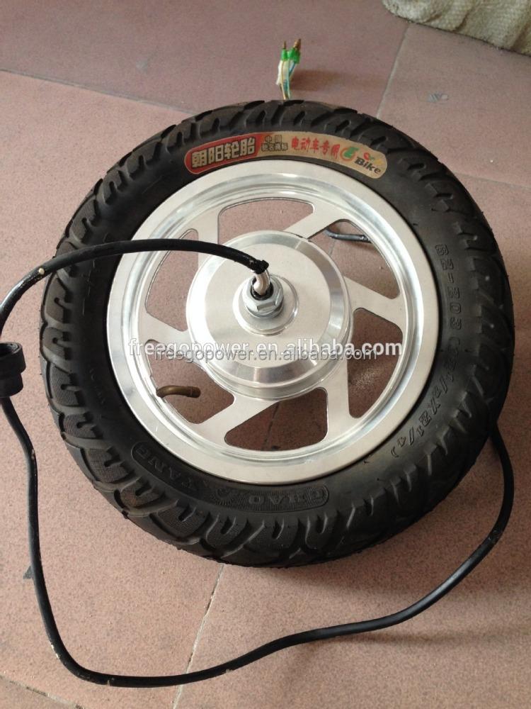 12 polegada brushless moteur roue lectrique pour v lo lectrique scooter moteur pour v lo. Black Bedroom Furniture Sets. Home Design Ideas