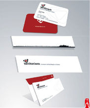 Paper business card printing with envelop/paper id card printing