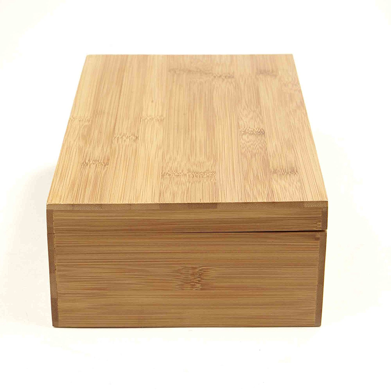 Organic Bamboo Tea Box Display Tea Cup Storage Box With Good Quality 3