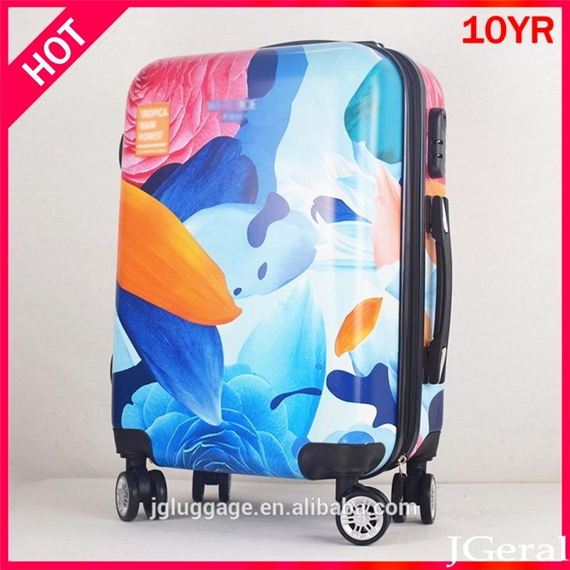 PC ABS luggage women handbags bags and travelling bags luggage strap cabin luggage