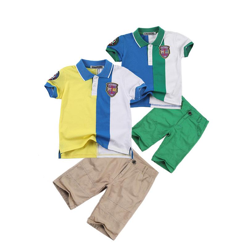 Summer Boys Ventilate Cozy 100% Cotton Promotion T-Shirt Polo