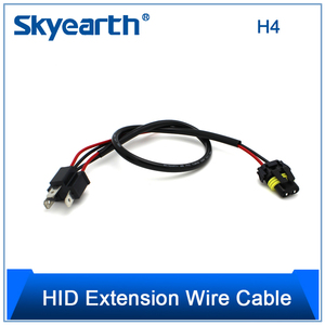H4 H/L Relay Cable Harness Wires for Bi-xenon HID headlight fog light kit 9003 HID Relay Harness Switch Wiring Controller