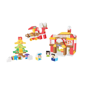 Certified Enlighten Christmas Building Blocks Toys For Kids Building Bricks Compatible