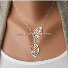 Fashon Leaf Costume Pendant Necklace Wholesale