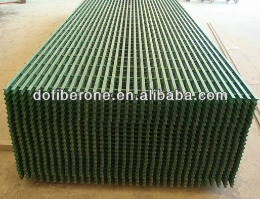 GRP FRP fiberglass decking grating pultruded and molded