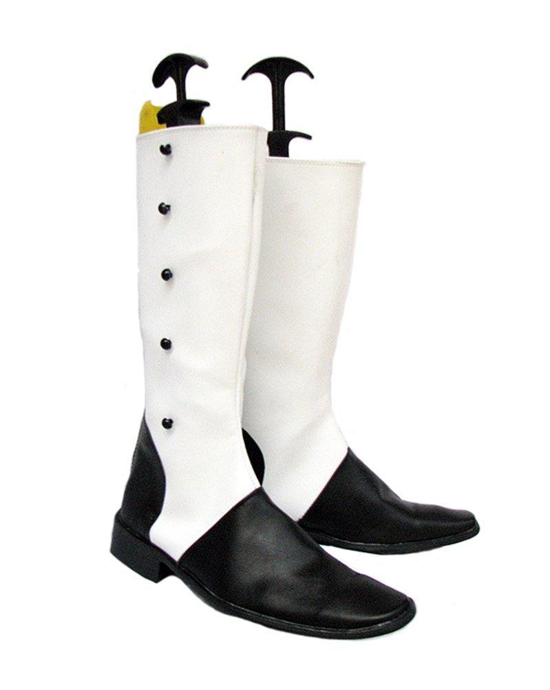 0529d89553b5 Get Quotations · Black Butler Kuroshitsuji The Ringmaster Charles Grey  Cosplay Shoes Boots Custom Made