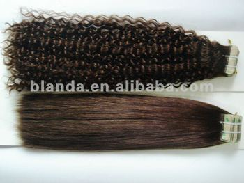 Brazilian remy skin weft curly tape hair extensions yaki tape hair brazilian remy skin weft curly tape hair extensions yaki tape hair weft pmusecretfo Image collections