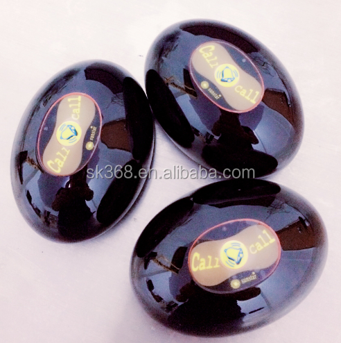 Restaurant table calling button, Waiter Call Button oval shaped Single Button