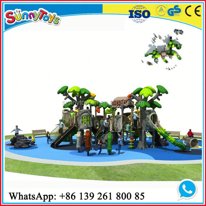Kindergartens supplies equipment outdoor gymnastic equipment outdoor playground plastic slide outdoor sports facilities