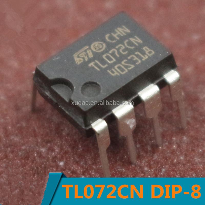 TL072CN Dual Operational Amplifier 4MHz Pk of 2 8-Pin PDIP