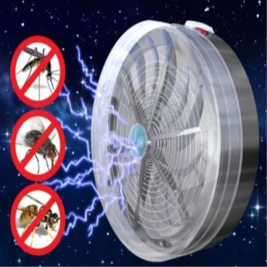 Cheap Bug Zapper Transformer Find Deals On Mosquito Killerelectric Killerinsect Killermosquito Get Quotations Rumas Round Shape Mini Hanged Insect Killer Lamp Portable Solar Buzz Electric Pest