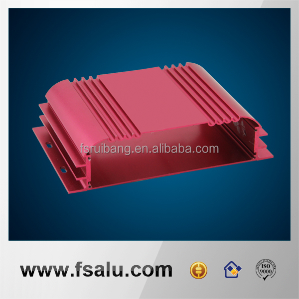 CNC machining extruded waterproof aluminum electronic enclosures