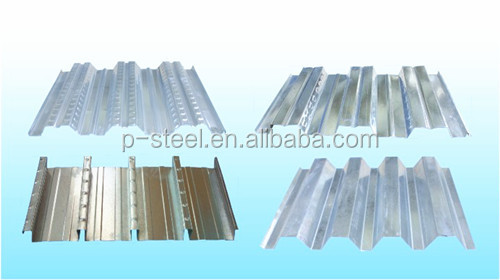 low price galvanized corrugated metal floor decking G90