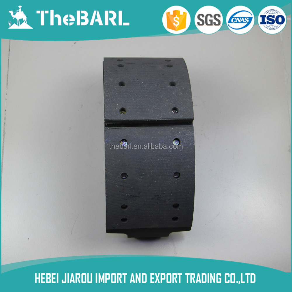 China Gucheng Jiarou TheBARL Manufacturers Wholesale High Quality ym brake shoe taiwan For All Truck All Bus