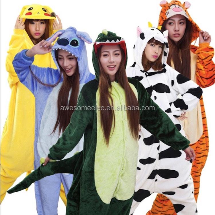 Мужчины Женщины 100% хлопок Kigurumi Пижама Мужская Фондовой Фланели  Kigurumi Пижамы Синий Кролик Домашняя Одежда 4ab7b7de9306b