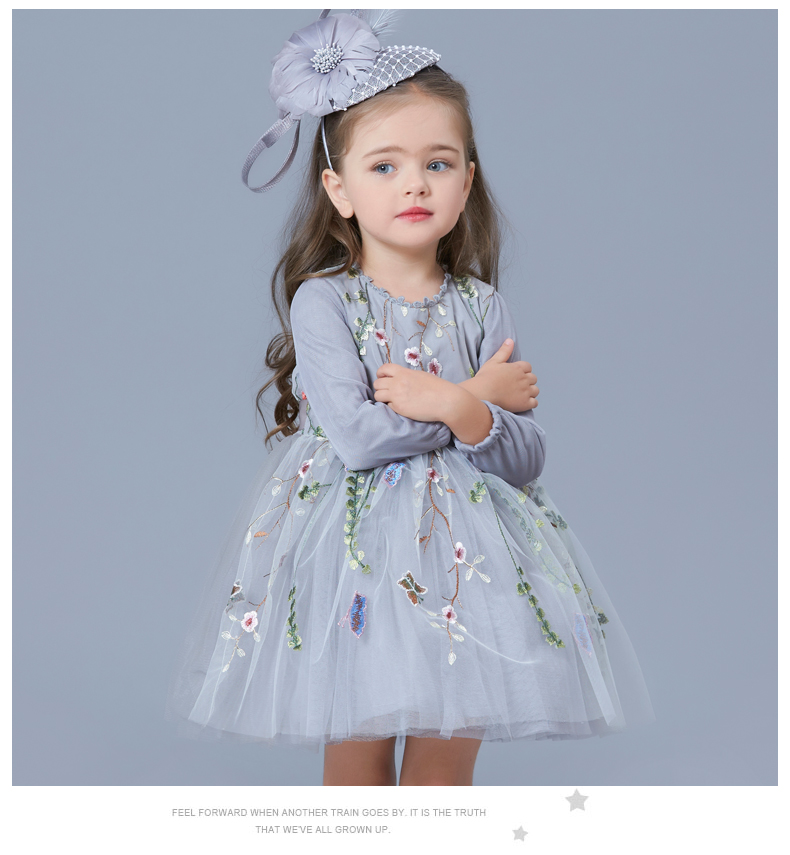 2ae131e3f 2017 Little Princess Girls Party Dress Evening Clothes for Waddler ...