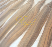 wholesale i tip hair Brazilian hair welft , color can be dyed and bleached .