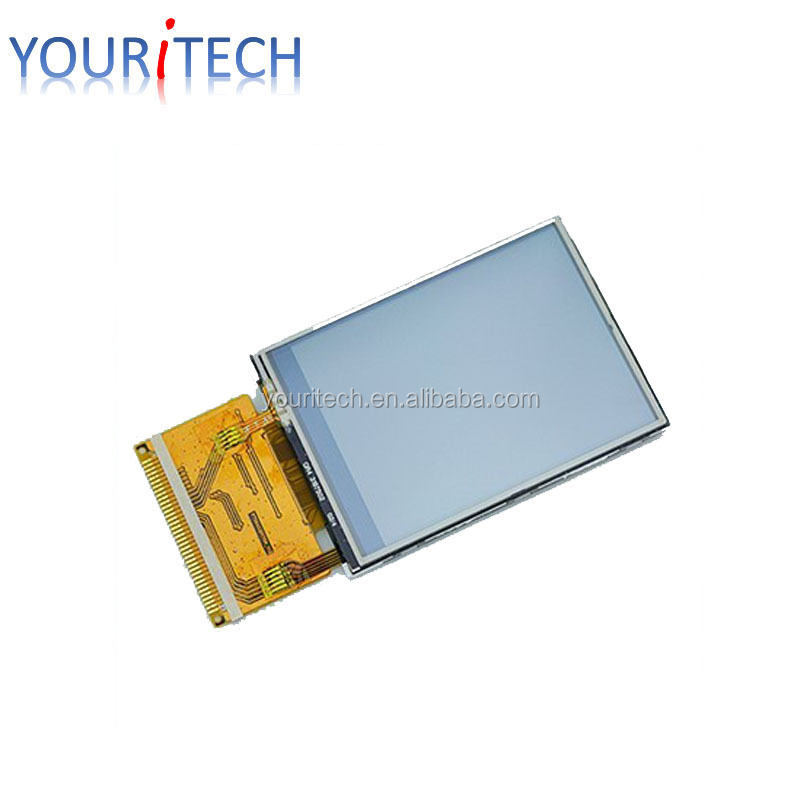 "2.4"" portait LCD module ET024QV01-K Youritech custom lcd with 240*320 resolution full viewing angle cheapest"
