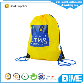 Best Price Hight Quality Waterproof Polyester Drawstring Bag