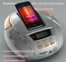 High quality hot sale MP3 boombox radio with bluetooth function