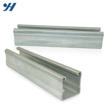 Customized Available Galvanized Perforated Struct Steel C Channel Column