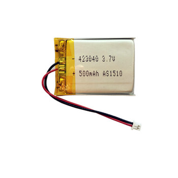 Wholesale 423040 li-ion battery 3.7v 500mah li-ion battery 3.7v ...