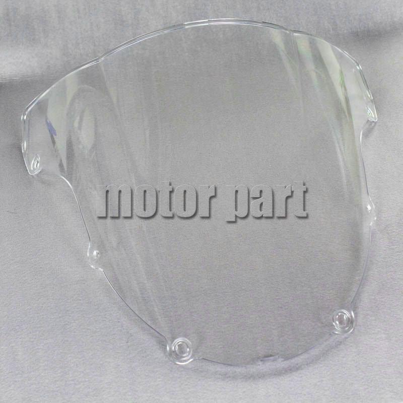 Мотоцикл ABS пластмассы ясно лобовое стекло дефлекторы для 2003 - 2004 Kawasaki ниндзя ZX6R ZX 6R 636 03 04 бесплатная доставка
