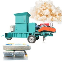 Shuliy mini forage square hay baler machinery mini baler for wood shavings