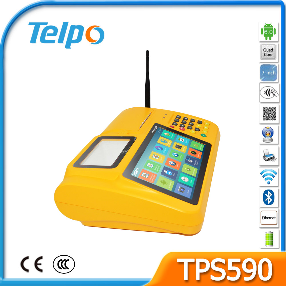 Popular Card Terminal Android Small Business Pos System Finance And Accounting System TPS590