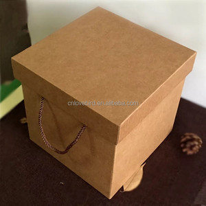 Customized Logo Big Christmas Eve Apple Box Paper Gift Packing Box Fruit Box